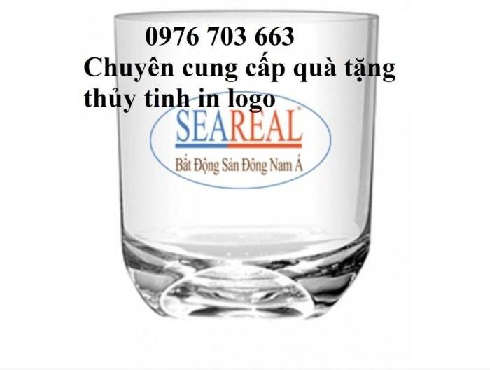 Cung cấp ly thủy tinh giá rẻ, bình thủy tinh in logo3