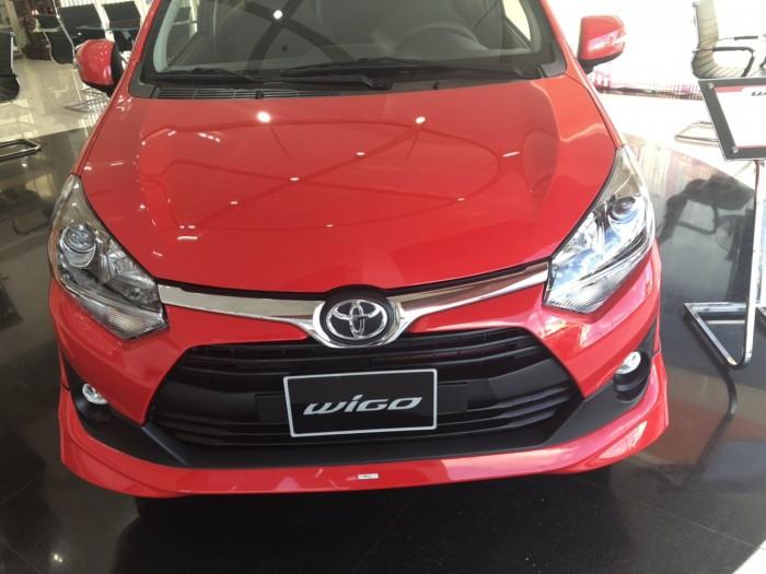 Toyota Wigo 1.2 AT màu đỏ 6