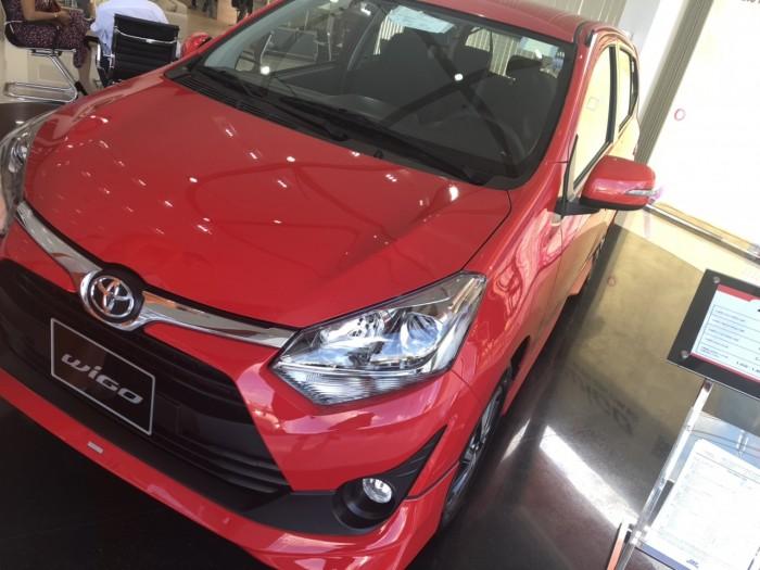 Toyota Wigo 1.2 AT màu đỏ 5