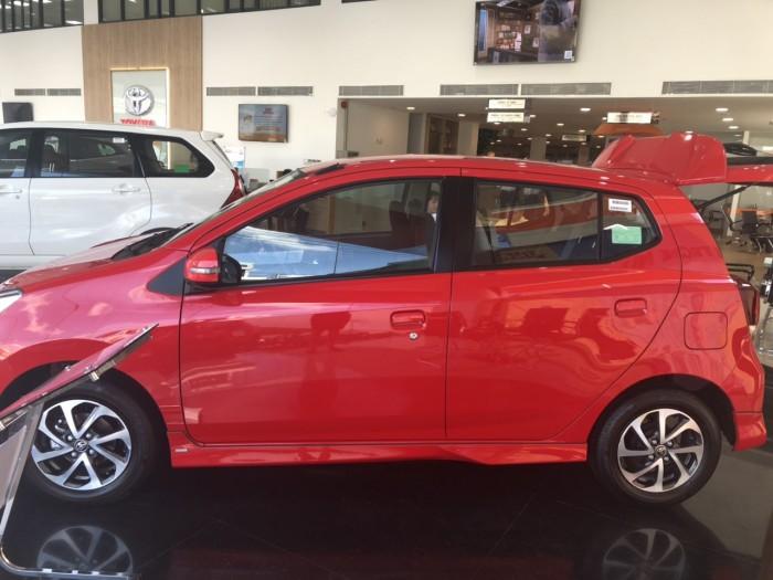 Toyota Wigo 1.2 AT màu đỏ 4
