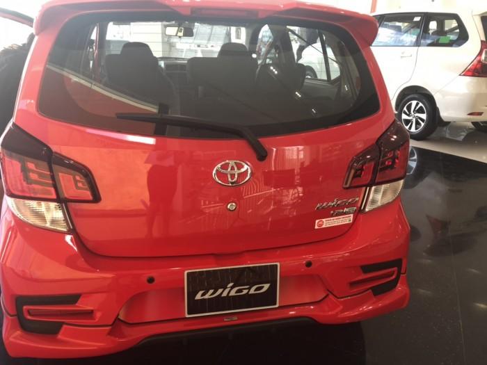 Toyota Wigo 1.2 AT màu đỏ 3