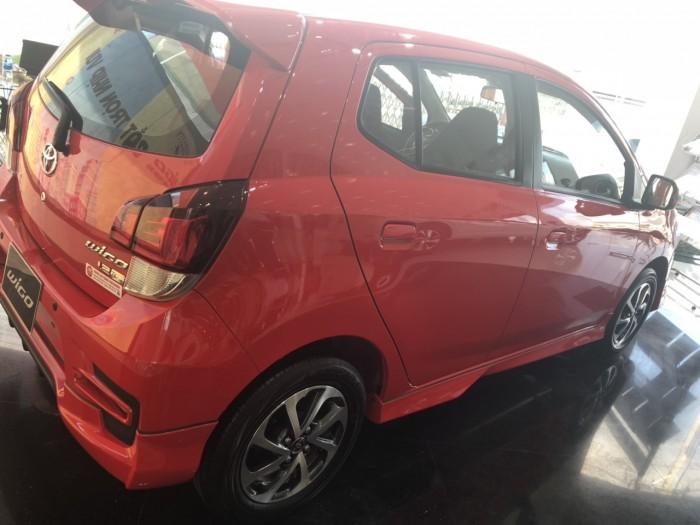 Toyota Wigo 1.2 AT màu đỏ