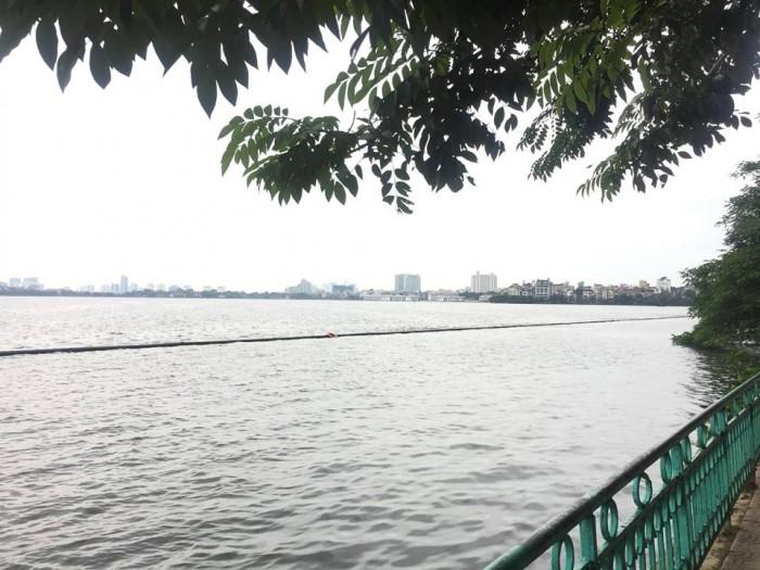 Bán nhà MP Trích Sài 50m2 x 4 tầng 17 tỷ, mặt Hồ Tây đẹp ngất ngây