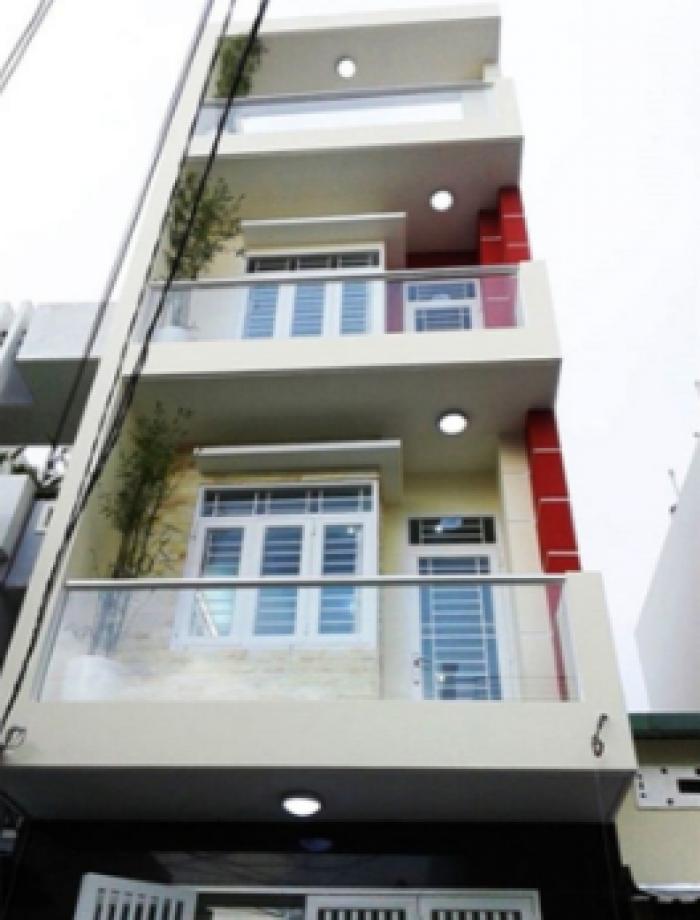 Bán nhà hẻm xe hơi Đồng Xoài, Tân Bình, DT: 4.4x13m, 3 lầu