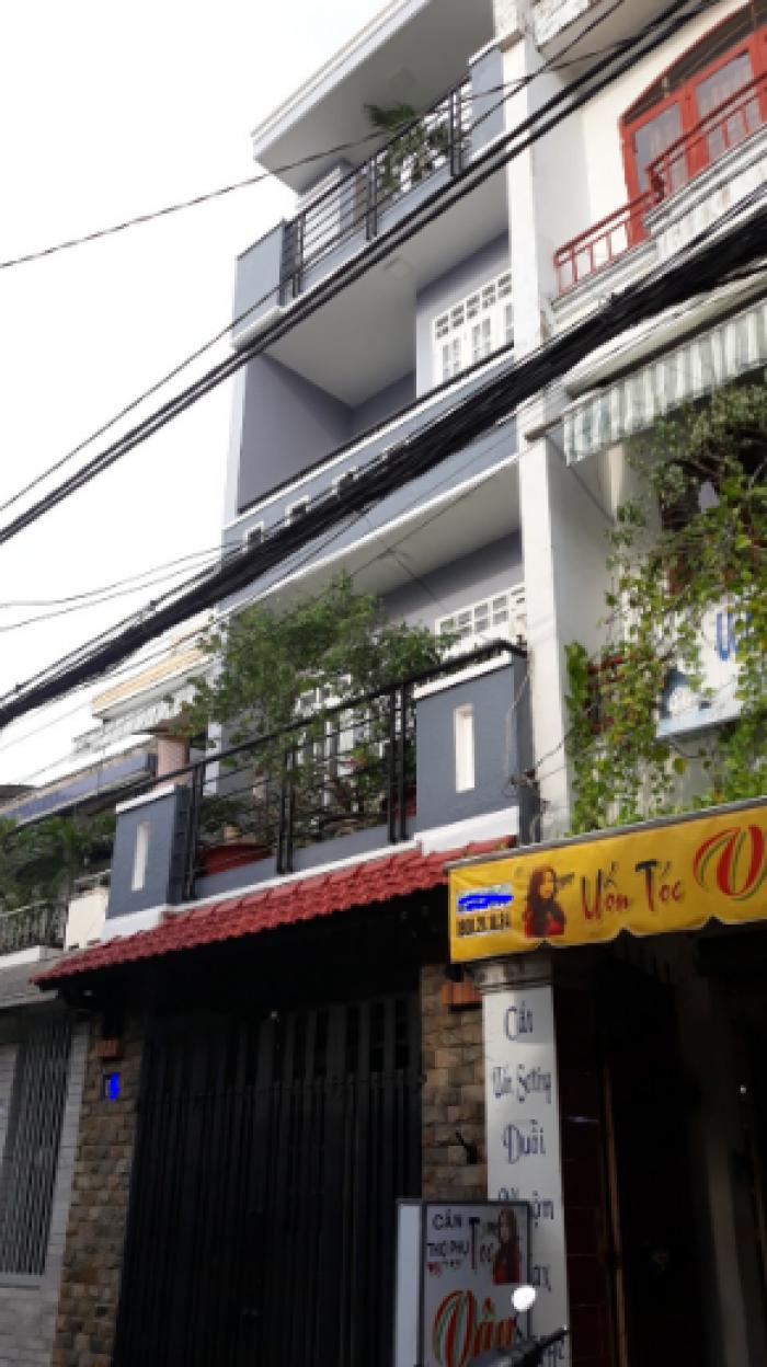 Bán nhà hẻm xe hơi Trường Chinh, Tân Bình, DT: 4.1x19m, 2 lầu
