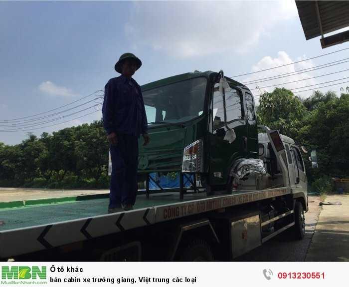 Bán cabin xe Trường Giang, Việt Trung các loại