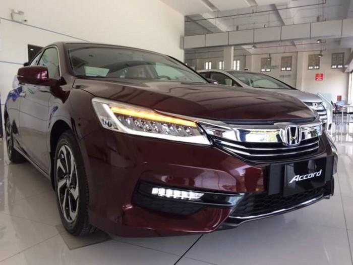 Giá xe Honda Accord 2.4V New 2018 Nhập Thái, Đủ Màu, Giá tốt