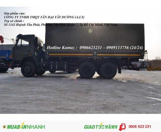 Xe tải thùng 15 tấn Kamaz, Bán xe tải thùng Kamaz 6,3m mới 2016 1