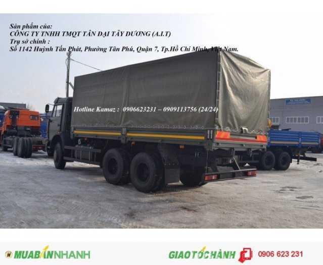 Xe tải thùng 15 tấn Kamaz, Bán xe tải thùng Kamaz 6,3m mới 2016 2