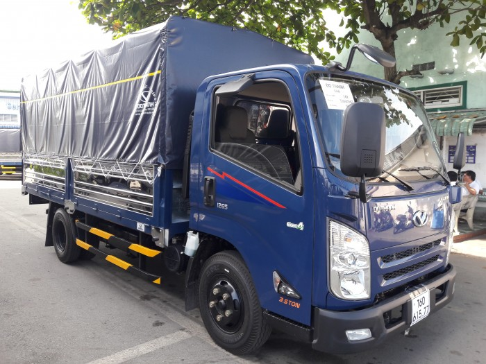 Giá xe tải 1.9 tấn IZ65 thùng bạt - Vay ở tất cả các ngân hàng ở tất cả các tỉnh