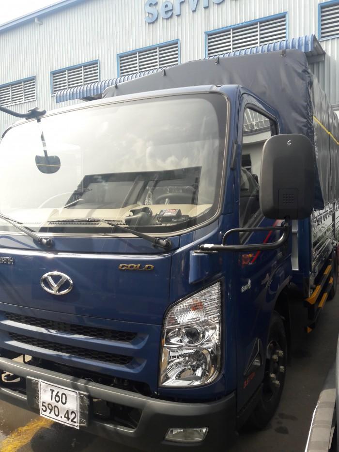 Giá xe tải 1.9 tấn IZ65 thùng bạt - Đóng thùng theo yêu cầu và làm hồ sơ cải tạo