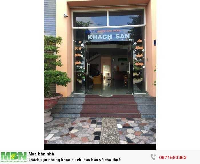 Khách Sạn Nhung Khoa Củ Chi Cần Bán Và Cho Thuê