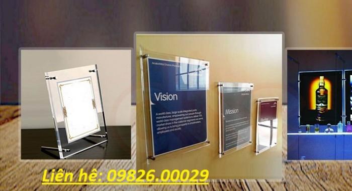 Nhận cung cấp các loại khung tranh, khung mica, khung poster với giá rẻ tại Hà nội20