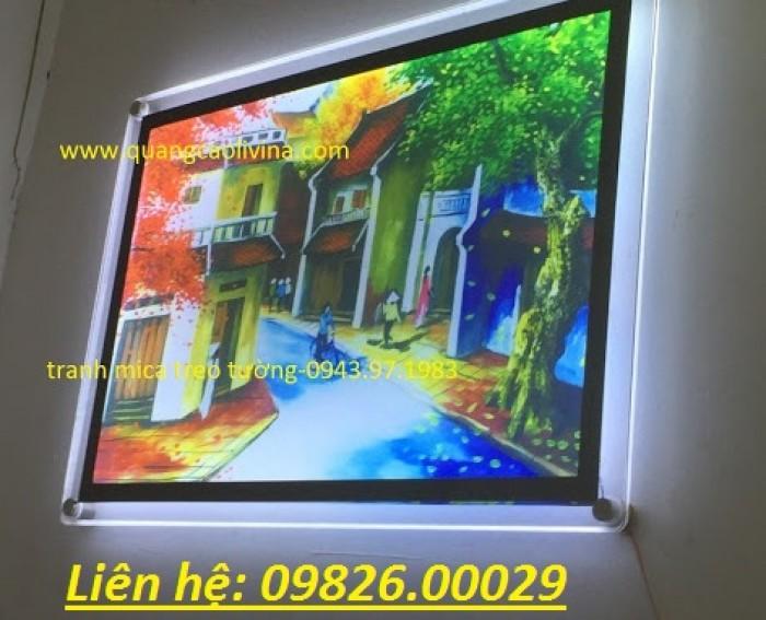 Nhận cung cấp các loại khung tranh, khung mica, khung poster với giá rẻ tại Hà nội16