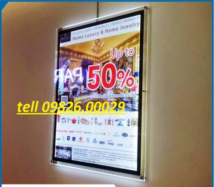 Nhận cung cấp các loại khung tranh, khung mica, khung poster với giá rẻ tại Hà nội8