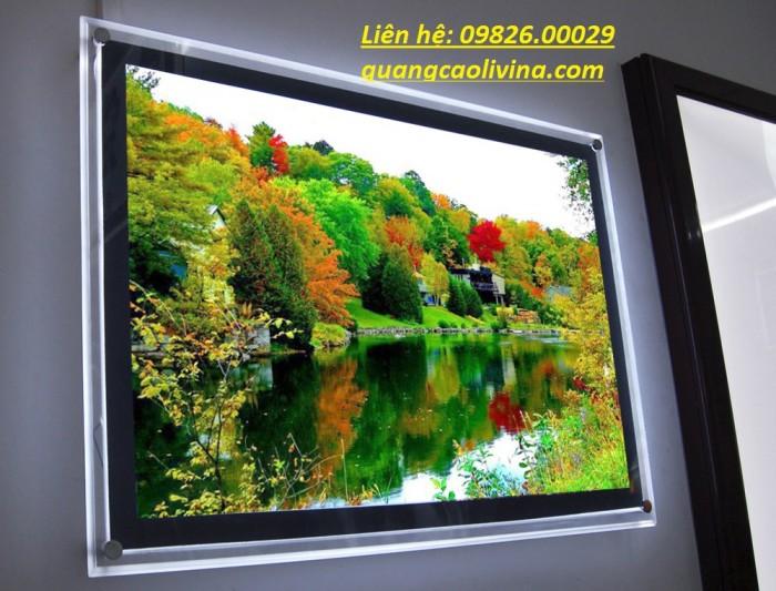 Nhận cung cấp các loại khung tranh, khung mica, khung poster với giá rẻ tại Hà nội6