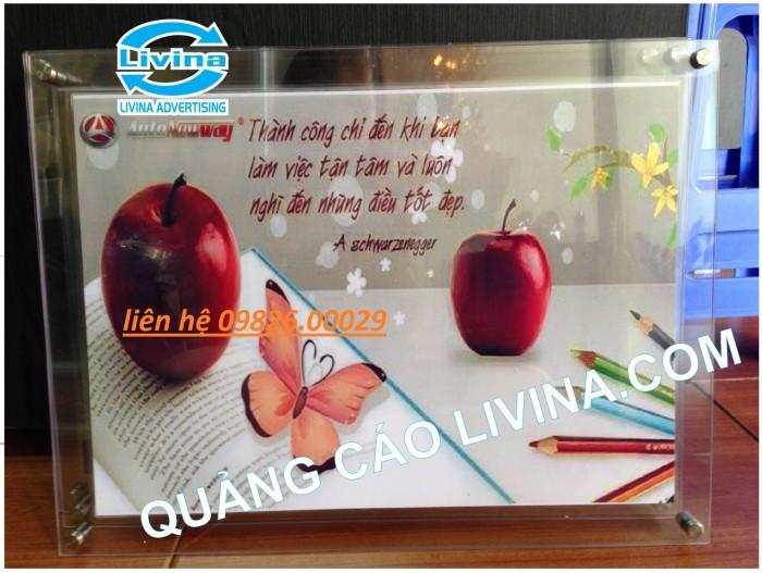 Nhận cung cấp các loại khung tranh, khung mica, khung poster với giá rẻ tại Hà nội2