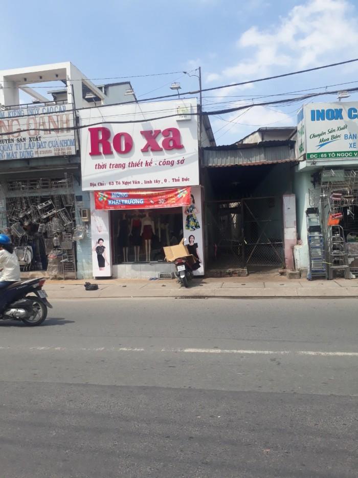 Bán nhà MT Tô Ngọc Vân, Linh Chiểu, TĐ giá 3ty550 (ngay chợ TĐ)