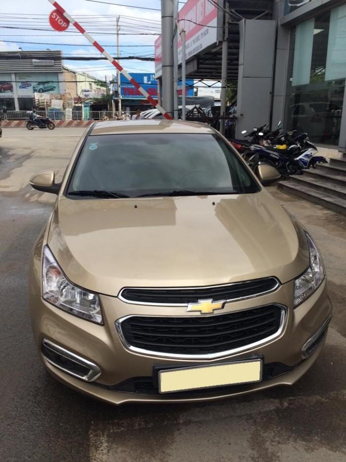 Bán xe Chevrolet Cruze 2016 số sàn vàng cát 2