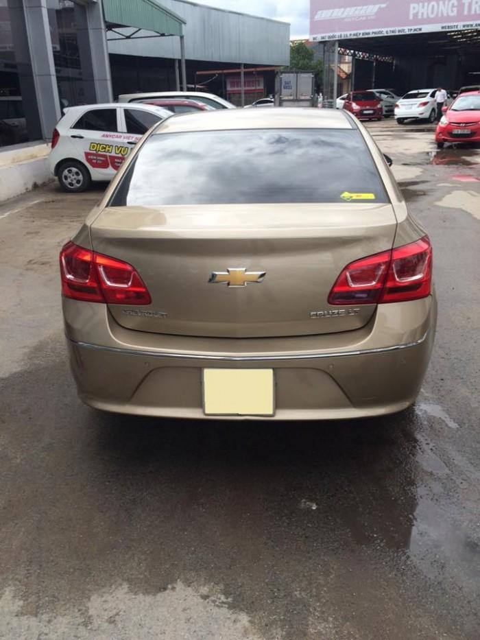 Bán xe Chevrolet Cruze 2016 số sàn vàng cát