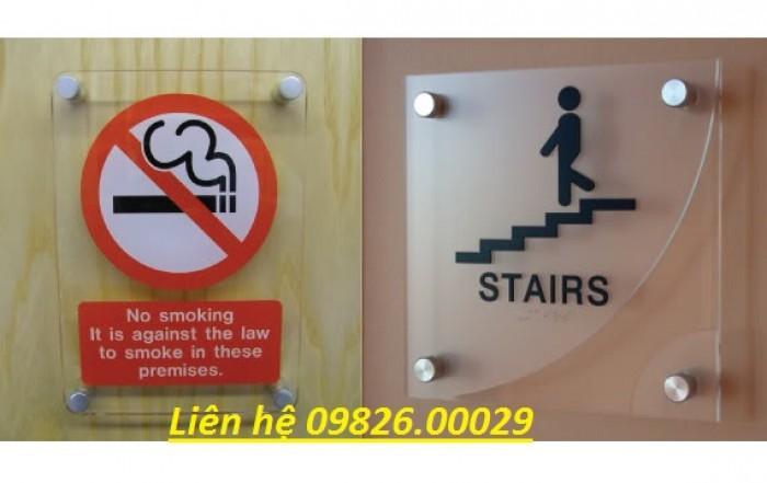 Biển cấm hút thuốc bằng các loại chất liệu theo yêu cầu12