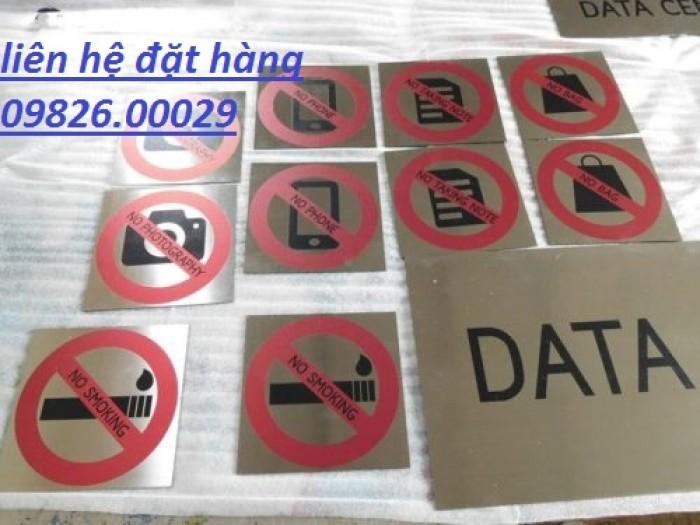 Biển cấm hút thuốc bằng các loại chất liệu theo yêu cầu11