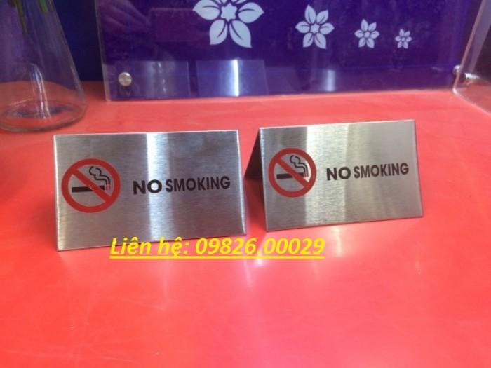Biển cấm hút thuốc bằng các loại chất liệu theo yêu cầu7