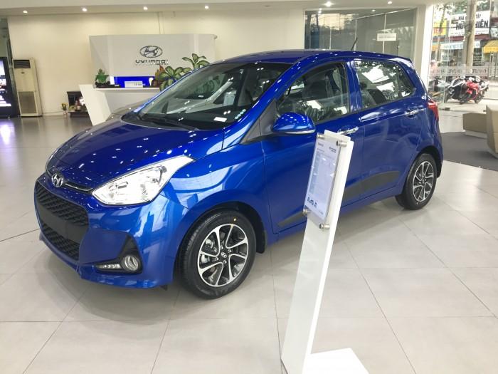 HYUNDAI GRAND I10 Xanh dương 2018, Hyundai Bình Dương I10 giao ngay chỉ với 130 triệu, ưu đãi giá nhất