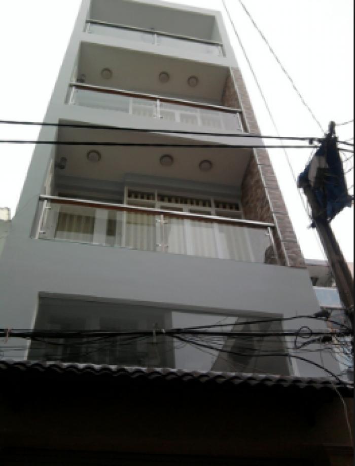 Mặt Tiền Tân Hải, Dt: 3x13m, đúc 1 trệt 4 tầng