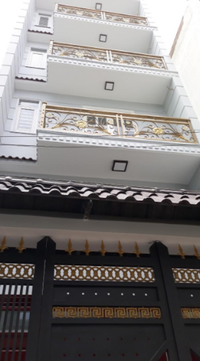 Nhà Tân Bình, đường Tân Hải, 5x15m, 3 lầu