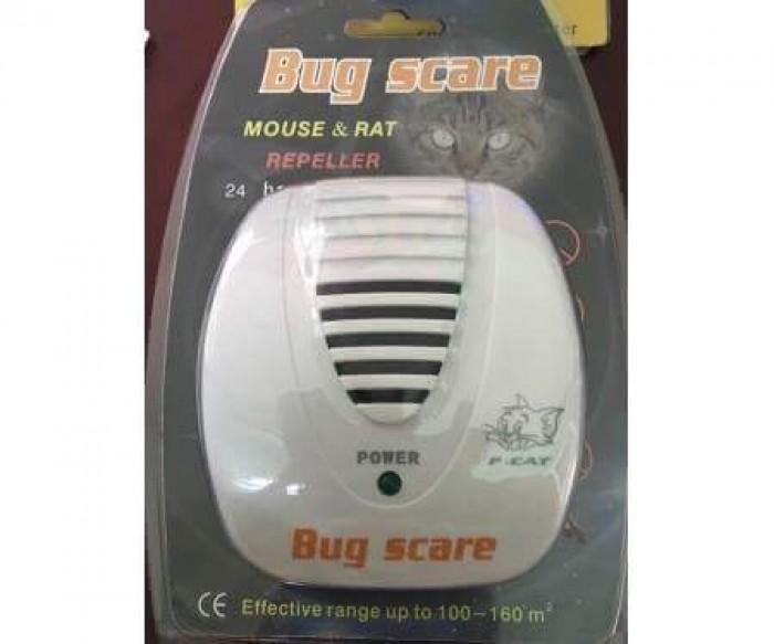 Máy đuổi chuột, côn trùng bằng song siêu âm Bug Scare KD28 A0