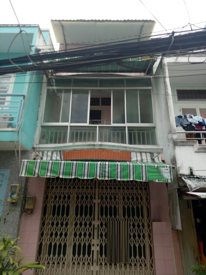 Bán nhà Cư Xá Phú Lâm A Q.6, DT 3.5x8m, 1lầu + 1lửng, Sổ hồng