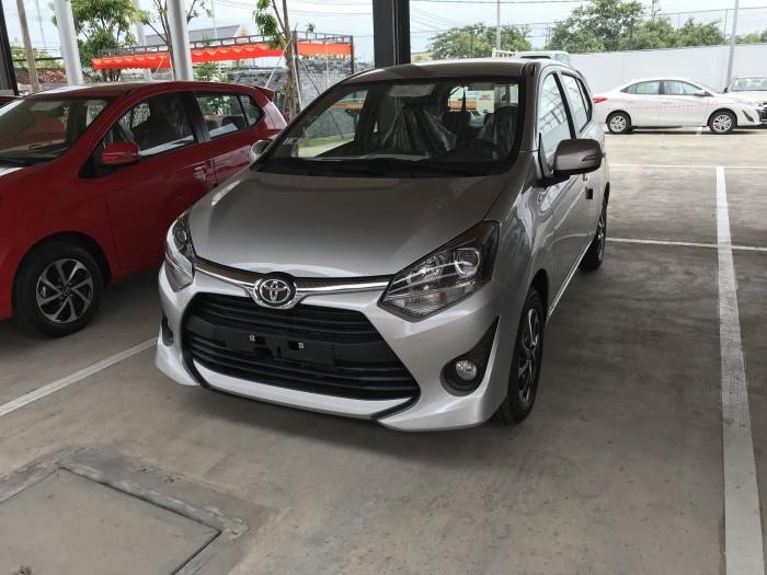Toyota Wigo Màu Bạc Số Tự Động, Khuyến Mãi Tại Toyota An Thành Fukushima