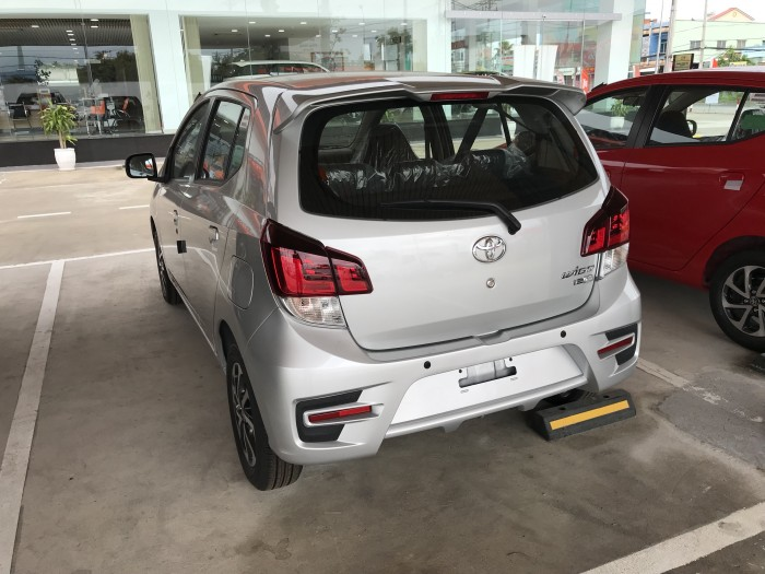 Toyota Wigo Màu Bạc Số Sàn, Nhập Khẩu Trực Tiếp Từ Indo, Khuyến Mãi Trả Góp Tại Toyota An Thành Fukushima