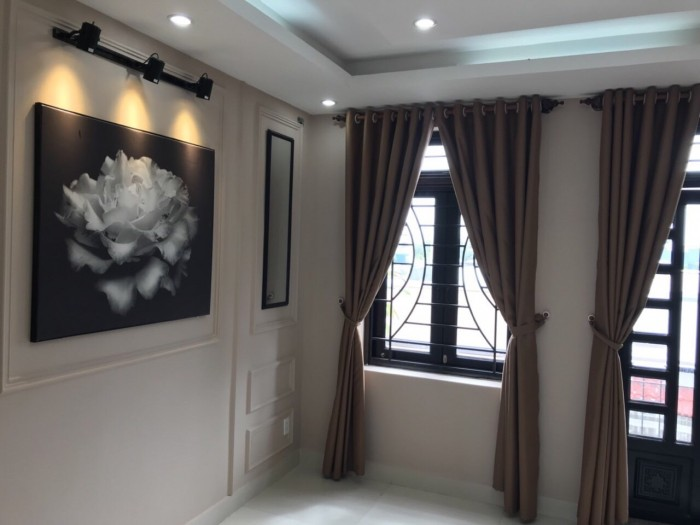 Bán nhà Khu dân cư Sài Gòn mới, đường Huỳnh Tấn Phát, Nhà Bè, hẻm xe hơi, 2 lầu 4PN