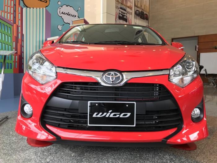Bán Xe Toyota Wigo 2018 Số tự động, xe nhập Indo, chỉ cần trả trước 140tr có xe ngay