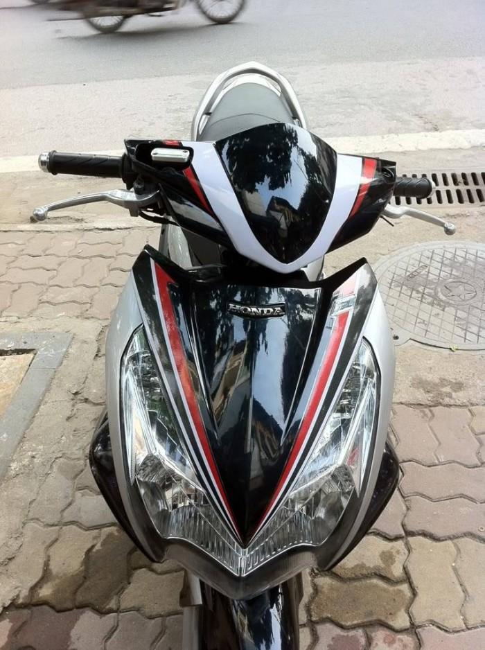 Bán xe honda Airblade fi 2012 đen bạc  nguyên bản chính chủ đang sử dụng 1