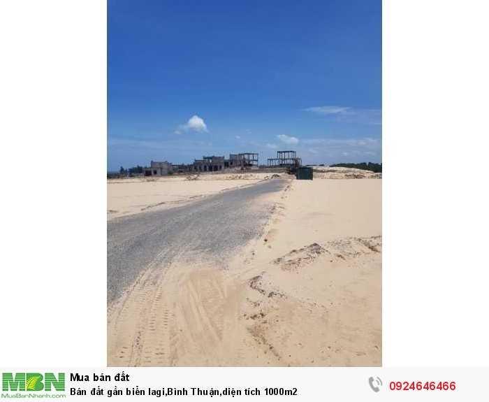 Bán đất gần biển lagi, Bình Thuận, diện tích 1000m2