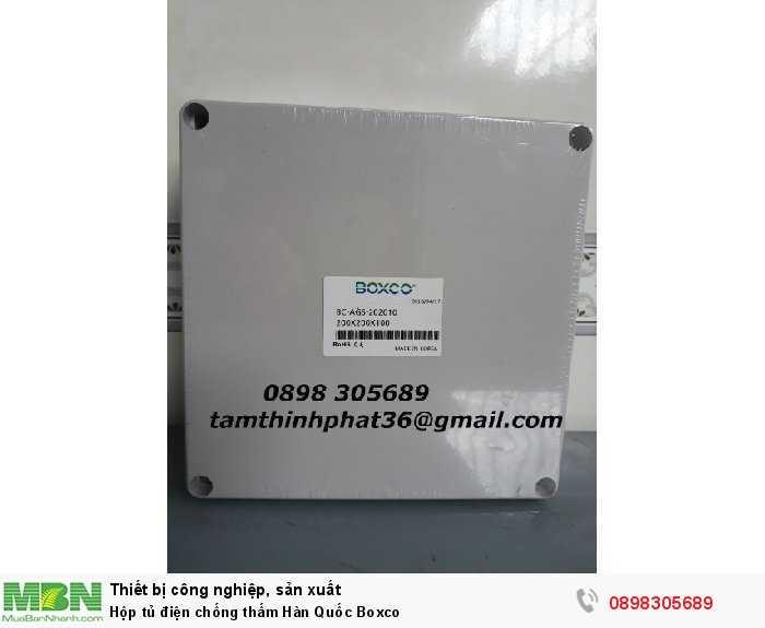 Hộp tủ điện chống thấm Hàn Quốc Boxco