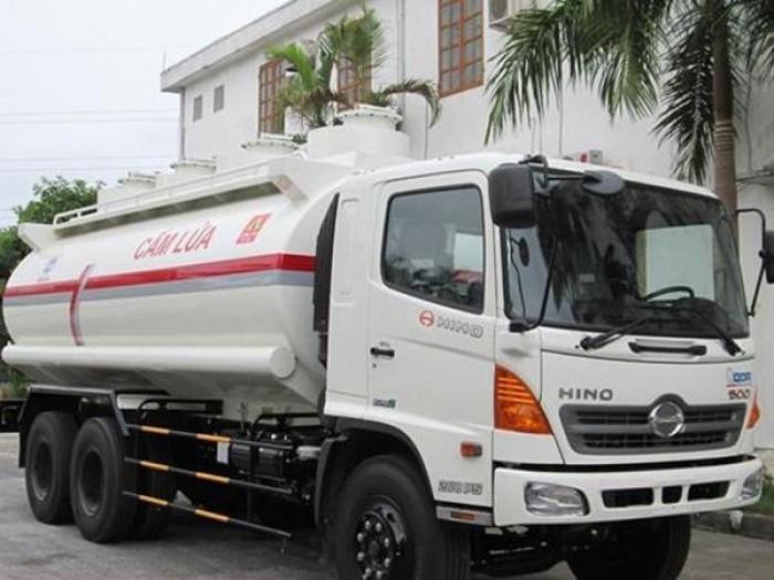 Xe chở xăng dầu Hino 18 khối