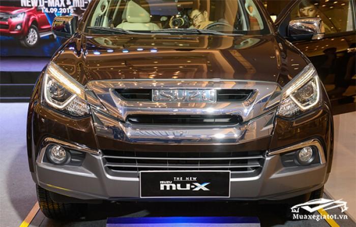 Isuzu MuX 7 chỗ 1.9 AT nhập nguyên chiếc Thái Lan