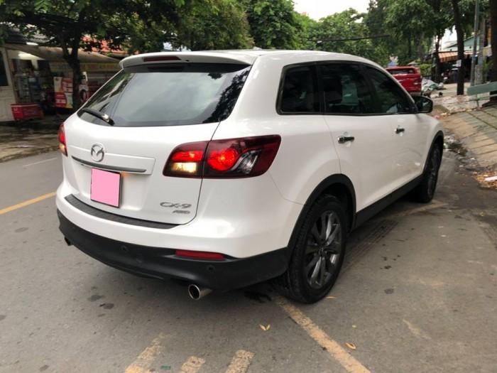 Bán gấp Mazda Cx9 at 2013 nhập nhật trắng tinh khôi 3