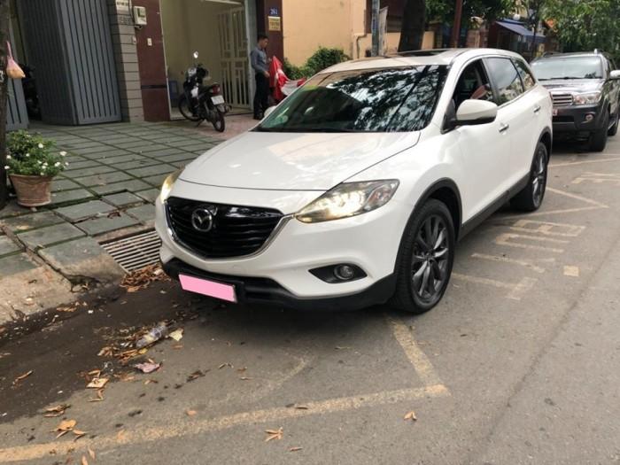 Bán gấp Mazda Cx9 at 2013 nhập nhật trắng tinh khôi 5