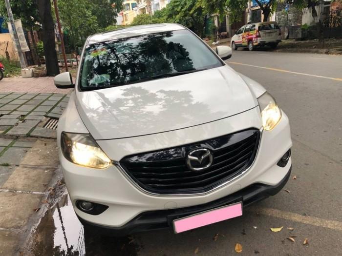 Bán gấp Mazda Cx9 at 2013 nhập nhật trắng tinh khôi 1