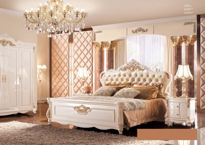 mẫu giường ngủ châu âu sang trọng Tân Bình Bình Thạnh8
