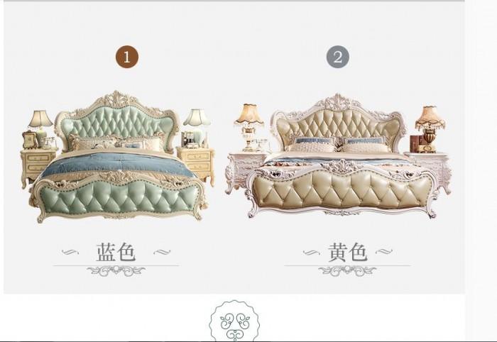 mẫu giường cổ điển đẹp tại q1 q35