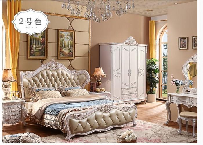 bộ giường tủ cổ điển giá rẻ2