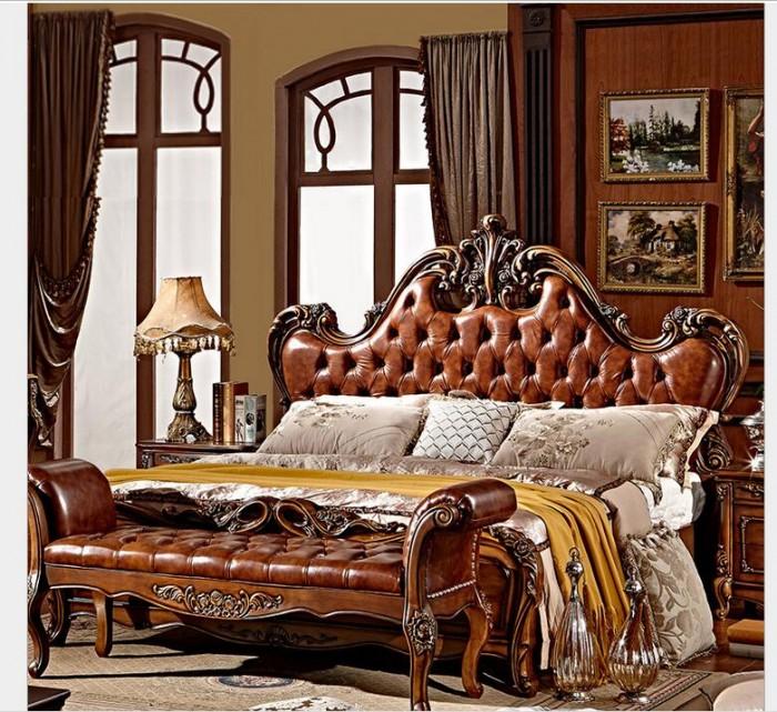 giường gỗ cổ điển q2 q71