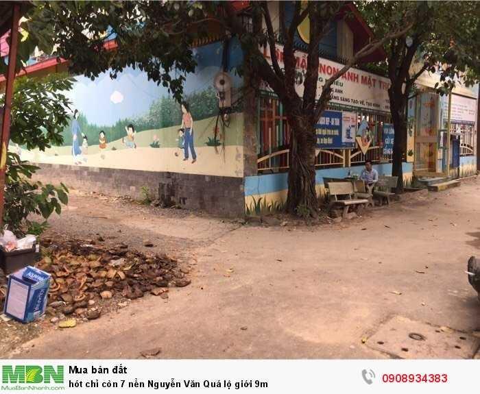 Hót chỉ còn 7 nền Nguyễn Văn Quá lộ giới 9m