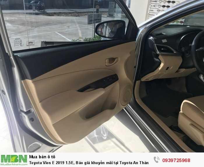 Toyota Vios 2019 1.5E, 4